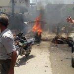 Cerablus'ta bombalı saldırı