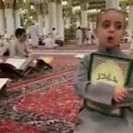 Fatiha Süresi'ni ezbere okuyan çocuk!