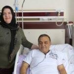 Kanser olduğunu öğrendi, 9 saatte sağlığına kavuştu