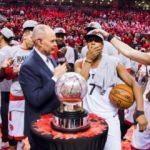 NBA Finali'nde Warriors'ın rakibi Toronto oldu