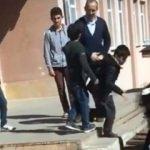 Öğrencileri döven cani okul müdürü, görevden alındı
