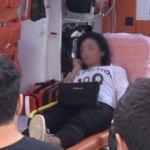Korkunç olay! Hamile eşini otomobilden attı