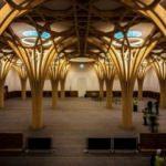 Türkiye'nin finanse ettiği Avrupa'nın ilk çevre dostu camisi açıldı