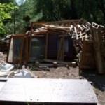 1500 TL'ye kendine öyle bir ev yaptı ki...