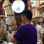 Çinliler, Maraş dondurması için kuyrukta