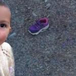 Ecrin bebeğin ayakkabısının diğer teki de bulundu