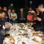 Başkan Erdoğan vatandaşlarla iftar yaptı