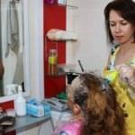 Huzurevi sakinlerine saç bakımı