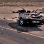 LGS sınavına giderken kaza geçirdiler