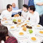 Saadet'ten iftarda  CHP adayı Ekrem İmamoğlu kampanyası