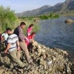 Sürgü Barajı'nda korkutan görüntü!