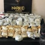 Yüksekova'da şüpheli araçta 59 kilo eroin yakalandı
