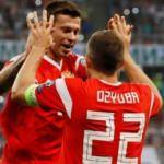 Rusya gol oldu yağdı! San Marino'yu ezdi geçti