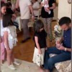 Alişan'ın yeğenlerine dağıttığı harçlık, sosyal medyayı salladı