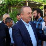 Bakan Çavuşoğlu, bayrama baba ocağında girdi