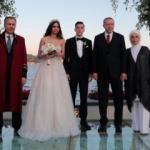 Erdoğan'dan Mesut Özil ile Amine Gülşe'nin düğününde alkış alan sözler