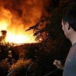 Dünyanın en yaşlı gazisinin evi yandı