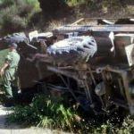 Hatay'dan kötü haber! Askeri araç devrildi