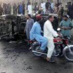 Pakistan'da bomba yüklü araçla saldırı: 5 ölü, 14 yaralı