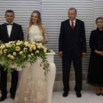 Başkan Erdoğan İstanbul'da nikah törenine katıldı