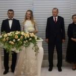 Cumhurbaşkanı Erdoğan 2 çiftin nikahına katıldı