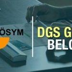 DGS sınav giriş yerleri belli oldu mu? ÖSYM Dikey Geçiş Sınavı için açıklama!