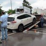 Karadeniz Sahil Yolu'nda 5 araç birbirine girdi!