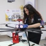 'Oktokopter' tasarlayan öğrenciler ABD'de yarışacak