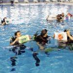 Türkiye'nin ilk engelli dalıcı dalış eğitim merkezi Bağcılar'da