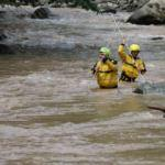 Araklı'daki selde kaybolan 3 kişi aranıyor