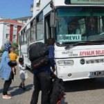 Ayvalık'ta 58 kaçak göçmen yakalandı