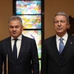 Bakan Akar, Rusya Savunma Bakanı ile telefonda görüştü