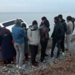 Balıkesir'de 75 kaçak göçmen ile 1 organizatör yakalandı