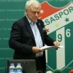Bursaspor'da şok! Yönetim ibra edilmedi