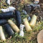 Çukurca'da, 10 kilo patlayıcı maddesi ele geçirildi