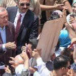 Cumhurbaşkanı Erdoğan'a sevgi seli! İşte dikkat çeken anlar...
