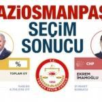 Gaziosmanpaşa seçim sonuçları ilan edildi! AK Parti CHP oyları (YSK 2019)...