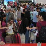 İstanbul Havalimanı'nda seçim yoğunluğu