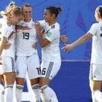 Kadınlar Dünya Kupası'nda ilk çeyrek finalist Almanya