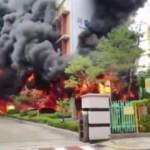 İlkokulda büyük yangın! Tahliye edildiler