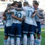 Arjantin adını yarı finale yazdırdı