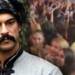 Diriliş Osman'ın yıldızı Burak Özçivit için Romanya'da büyük izdiham