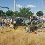 Hafif ticari araçla traktör çarpıştı: 2 ölü, 1 yaralı