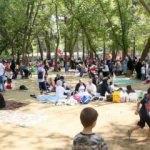 5 Bin öğrenciyle şenlik havasında piknik