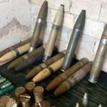 Afrin'de PKK'nın füzeleri ele geçirildi
