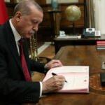 Başkan Erdoğan'dan kritik atama!