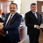 Belediye Başkanı Dinçer'den yargı mensuplarına ziyaret