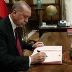 Cumhurbaşkanı imzaladı: O isimler görevden alındı