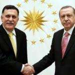 Erdoğan Libya UMH Başkanlık Konseyi Başkanı Serrac ile görüştü!