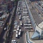 İstanbul'da otogara giriş çıkışlar kapatıldı!
